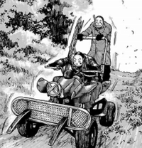 dad - クローズワーストより暴力的漫画ジャンク・ランク・ファミリー
