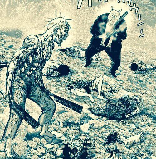 DF8R6XuVYAAThoa - 鬼畜島の廃墟研究サークルのメンバーの変貌ぶりがヤバい