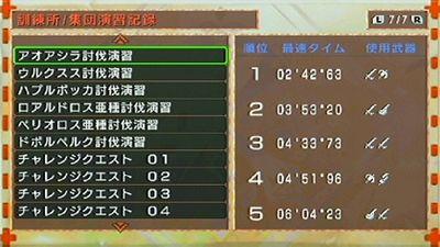 20111130101555c3f - 【PSP】モンスターハンター3rd感想レビュー