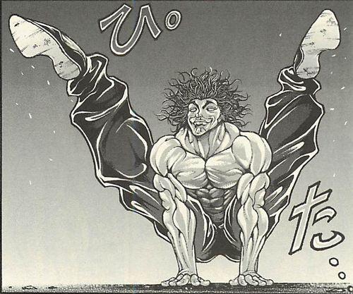 070 - 範馬刃牙VS範馬勇次郎の戦い ギャグ漫画?地上最強の親子喧嘩まとめ