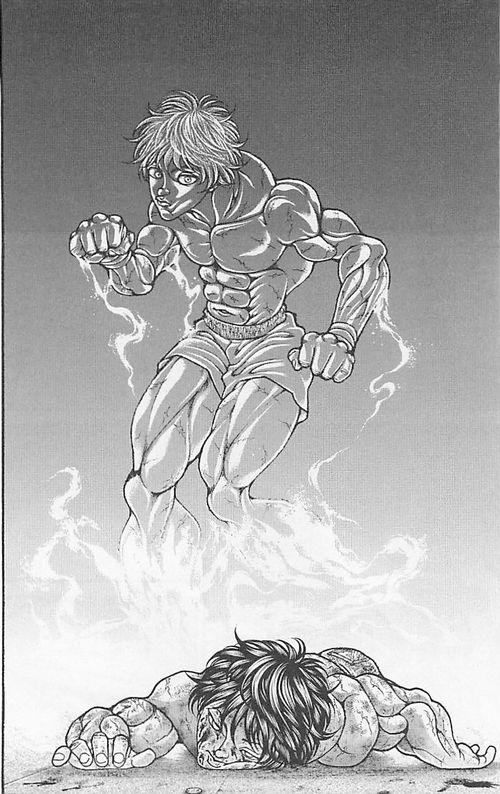 baki37 0153 - 範馬刃牙VS範馬勇次郎の戦い ギャグ漫画?地上最強の親子喧嘩まとめ