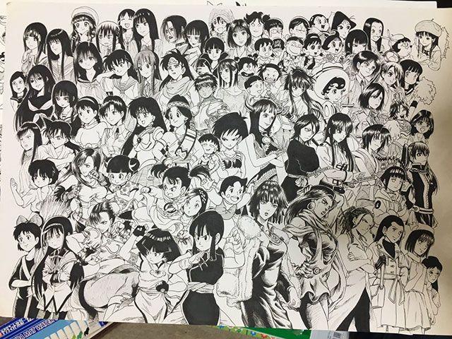 20920 07 - カッコいい!全キャラ集合!漫画アニメキャラの大集合画像をまとめてみた。