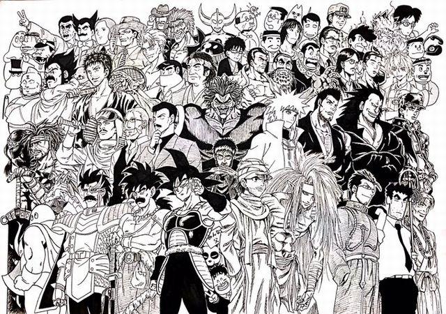 DCiO23GVwAM1euP - カッコいい!全キャラ集合!漫画アニメキャラの大集合画像をまとめてみた。