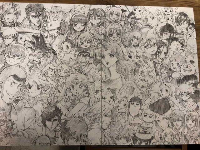 l miya 1812charashugou03 - カッコいい!全キャラ集合!漫画アニメキャラの大集合画像をまとめてみた。