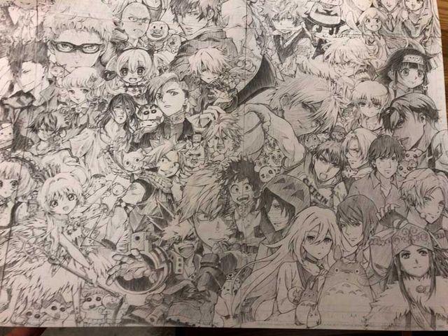 l miya 1812charashugou05 - カッコいい!全キャラ集合!漫画アニメキャラの大集合画像をまとめてみた。