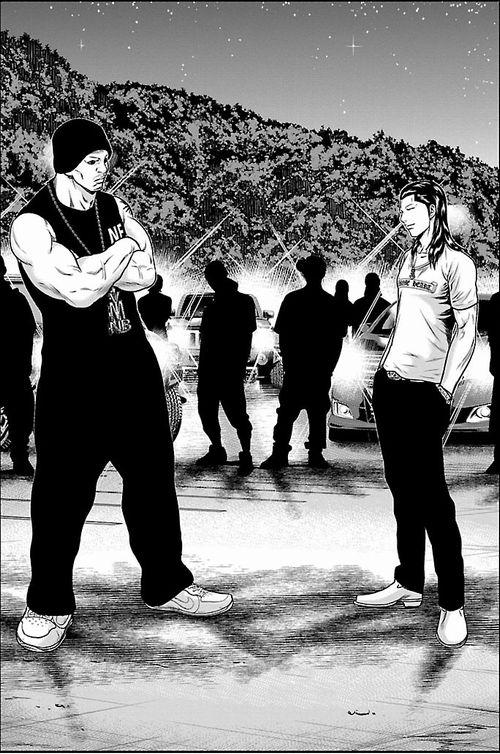 DLraw.net 130 - 【漫画】「OUT-アウト」ベストバウト集!名勝負だらけの不良漫画